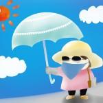 紫外線対策 日焼け止めに効果のある服装の色や素材の選び方